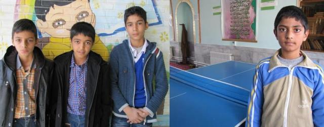 باپایان یافتن مسابقات تنیس روی میز به مناسبت حماسه ۹ دی