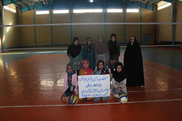 IMG_5062 مسابقات مینی والیبال دختران روستایی به مناسبت ایام ا... دهه فجر