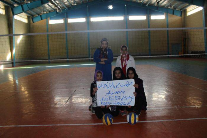 IMG_5065 مسابقات مینی والیبال دختران روستایی به مناسبت ایام ا... دهه فجر