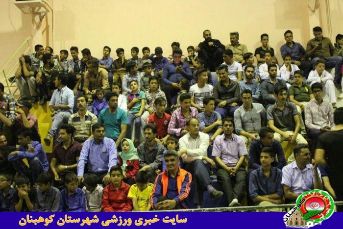 مراسم افتتاحیه تکریم رمضان با ورزش شهرستان کوهبنان+عکس جدید