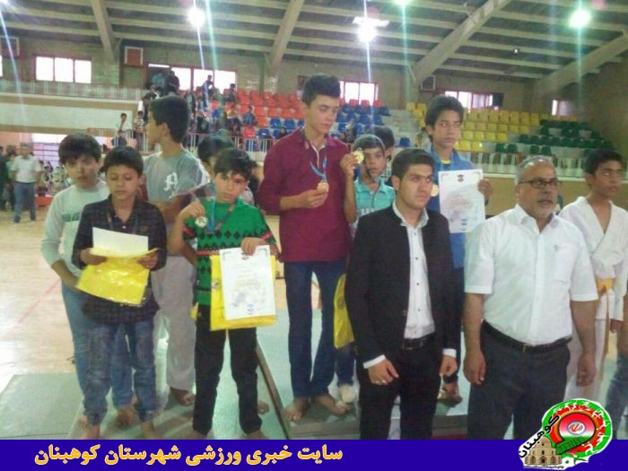 باران مدال برای تیم جودوی شهرستان