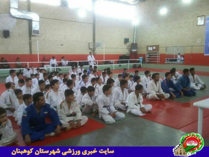 کسب مدال های رنگارنگ توسط ورزشکاران جودوکار شهرستان کوهبنان