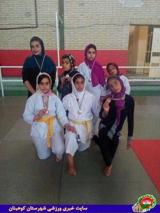 مسابقات جودوکاران خانم در استان