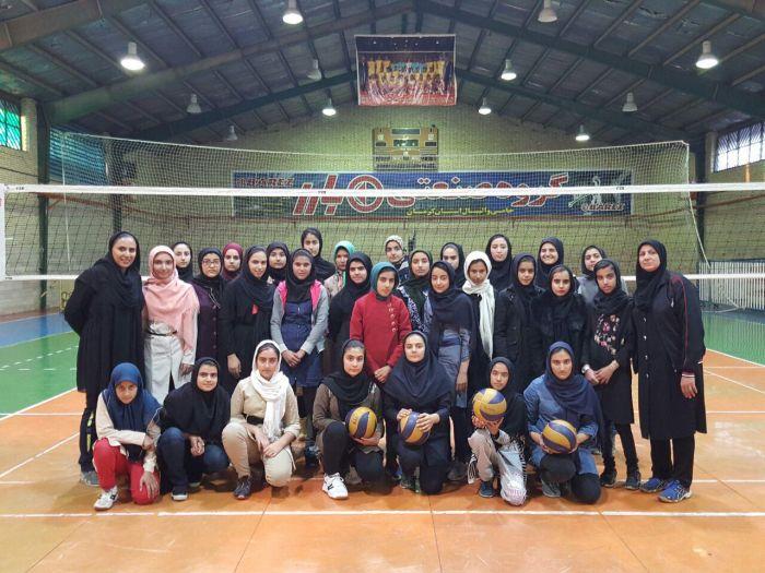 دیداردوستانه اعضای والیبال باشگاه فرهنگی ورزشی کوثر شهرستان کوهبنان