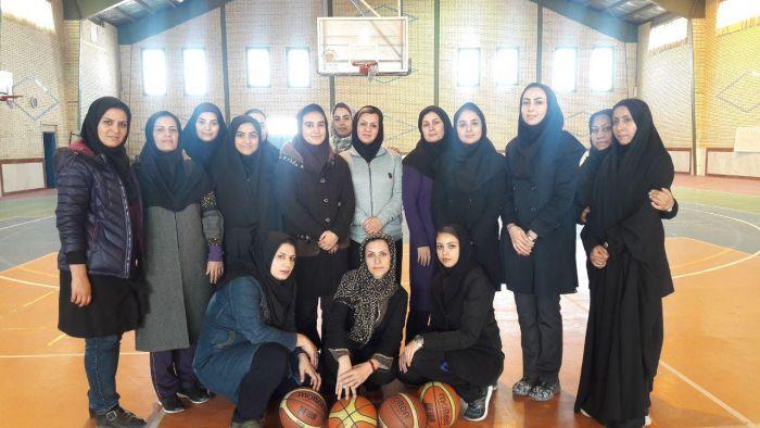 کلاس مربیگری بسکتبال درجه سه بانوان به مدرسی سرکار خانم کریمی