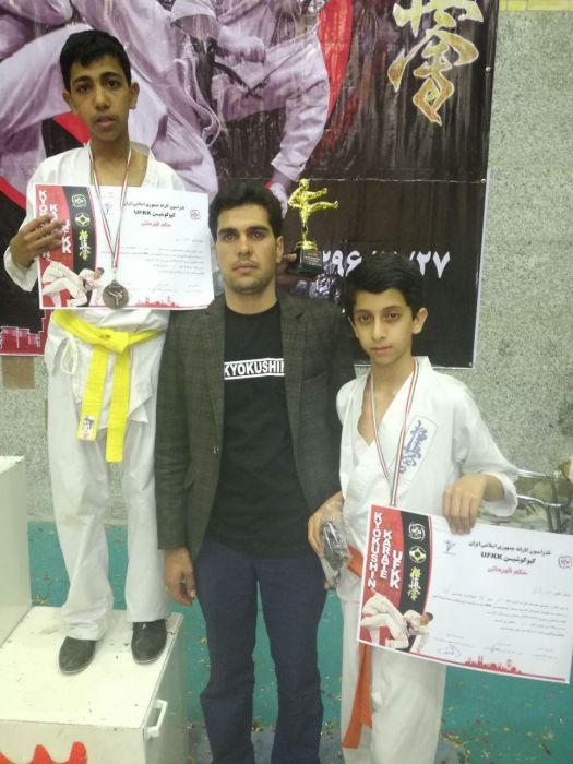 افتخاری دیگر در ورزش شهرستان کوهبنان