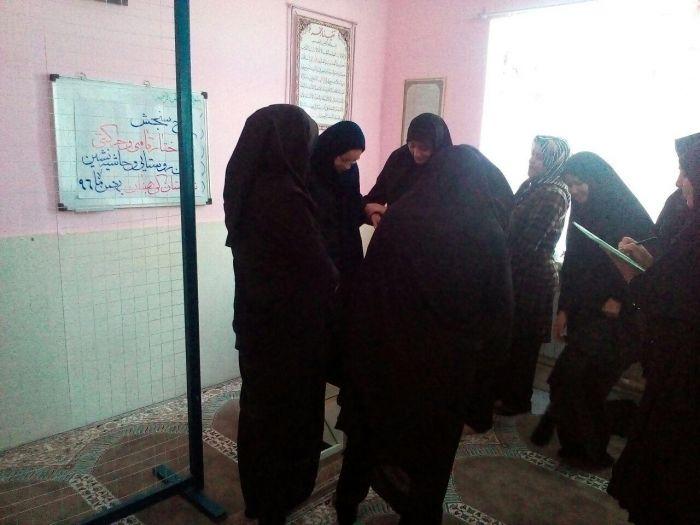 طرح سنجشساختارقامتی وحرکتی زنان روستایی