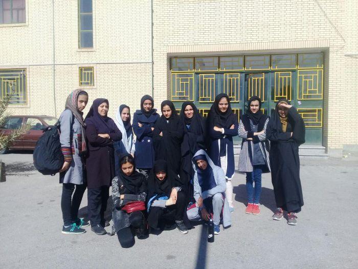 مسابقات استانی هندبال دختران دوره متوسطه اول