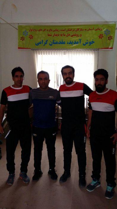حضور استاد اسماعیلی مربی تیم فوتسال منتخب کوهبنان در دوره تخصصی مربیگری سطح یک ایران