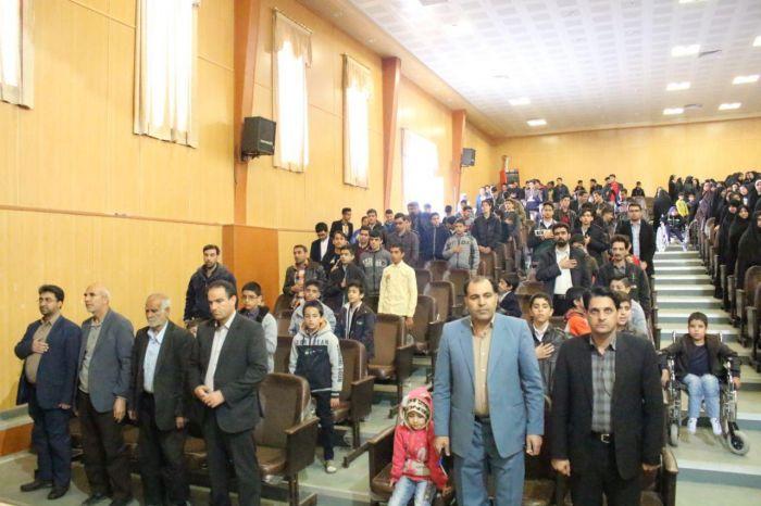 جشنواره تجلیل از جوانان و ورزشکاران برتر سال ۹۶ شهرستان کوهبنان