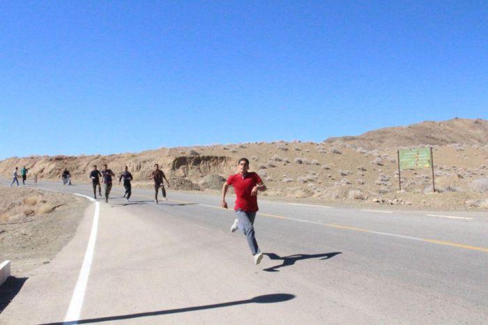 تصاویر مسابقات دوصحرانوردی جوانان روستای خانمکان شهرستان کوهبنان