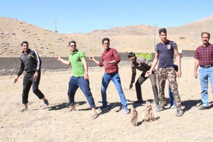 تصاویر بازی دغل بازی روستای خانمکان شهرستان کوهبنان