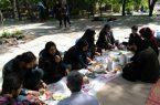 اردوی فرهنگی ورزشی دختران جوانان به مناسبت هفته جوان. به روستای کن