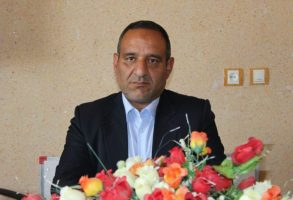 ناصر اکبری رئیس هیئت تنیس