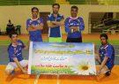 مسابقات فوتسال کارمندان ادارات به مناسبت هفته سلامت