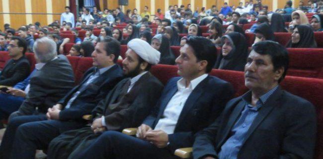 جشن بزرگ نشاط و امید همراه با مراسم تجلیل از جوانان برتر شهرستان کوهبنان به مناسبت هفته جوان
