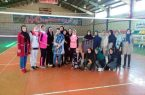 دیداردوستانه تیم والیبال باشگاه کوثرکوهبنان با سالن رشیدفرخی استان