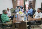جلسه رایزنی و هماهنگی با اسپانسر مسابقات فوتسال پیشکسوتان استان کرمان به میزبانی شهرستان کوهبنان
