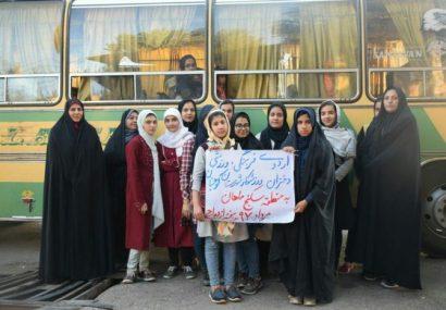 اردوی دختران به منطقه سه کنج ماهان کرمان به مناسبت هفته ازدواج