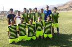 پیروزی تیم فوتبال جوانان شهرستان کوهبنان مقابل جوانان شهرستان راور