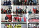 افتتاحیه مسابقات فوتسال پیشکسوتان استان در سالن رهبری شهرستان کوهبنان