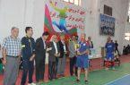 مسابقات فوتسال پیشکسوتان و کارمندان استان سالن ورزشی رهبری شهرستان کوهبنان