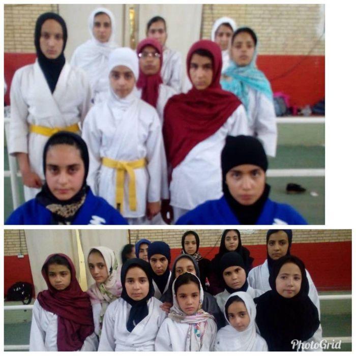 افتخار آفرینی جودوکاران نونهال و نوجوان دختر شهرستان کوهبنان در مسابقات قهرمانی استان