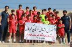 حضور تیم نونهالان مدرسه فوتبال نشاط شهرستان کوهبنان در فستیوال فوتبال استان کرمان