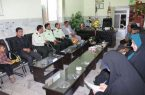 مسئولین هیات هاوکمیته های ورزشی و مربیان باشگاه های شهرستان کوهبنان به مناسبت هفته نیروی انتظامی