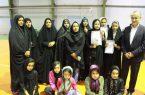  نائب قهرمانی تیم بومی محلی بانوان بخش طغرالجرد شهرستان کوهبنان در مسابقات بومی محلی این شهرستان