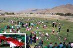 جشنواره پرواز بادبادک ها نونهالان شهرستان کوهبنان  به مناسبت هفته تربیت بدنی و ورزش