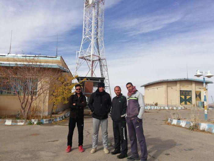 گروه کوهنوردان پابدانا  ارتفاعات دکل تلویزیون طغرالجرد