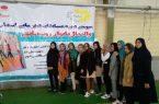 شرکت تیم والیبال بانوان روستایی شهرستان کوهبنان در مسابقات قهرمانی استان به میزبانی  شهرستان انار
