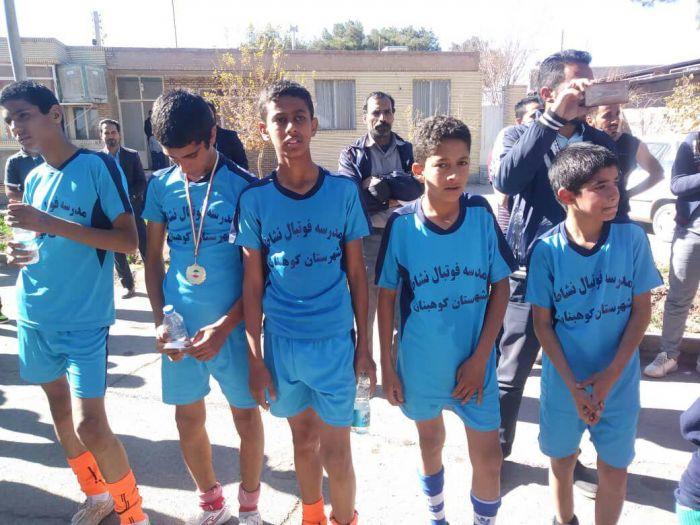 کسب مقام اول استانی توسط دونده نوجوان بخش طغرالجرد شهرستان کوهبنان