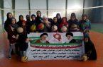 مسابقات والیبال دختران نوجوان بخش طغرالجرد شهرستان کوهبنان به مناسبت چهلمین سالگرد انقلاب اسلامی