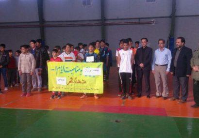 مسابقات فوتسال نوجوانان پایگاه های مقاومت بسیج بخش طغرالجرد شهرستان کوهبنان
