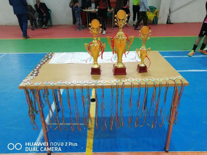 شکست میزبان و قهرمانی پرقدرت میهمان در مسابقات فوتسال نوجوانان