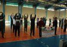 همایش ورزش صبحگاهی کارکنان ادارات شهرستان کوهبنانبه مناسبت هفته سلامت مردان