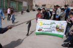 جشنواره بازی های بومی محلی درروستای افزاد شهرستان کوهبنان برگزارگردید.