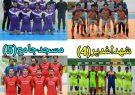 🔴نتایج شب چهارم مسابقات فوتسال شهرستان کوهبنان جام تکریم رمضان با ورزش