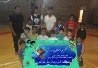 مسابقات کشتی نوجوانان بخش طغرالجرد شهرستان کوهبنان جام تکریم رمضان