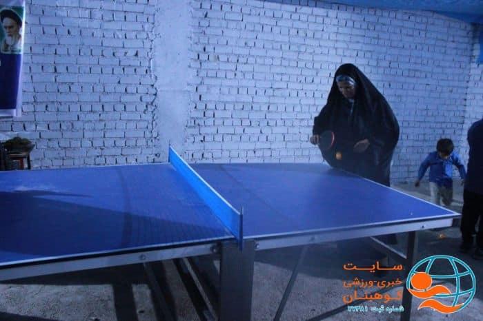 مسابقات خانه ورزش روستایی، روستای ده خواجه شهرستان کوهبنان ویژه بانوان