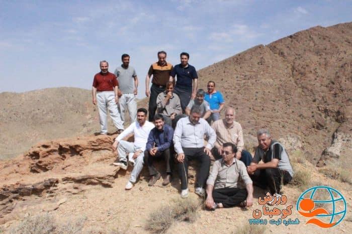 کوهپیمایی همگانی شهرستان کوهبنان