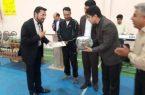 مراسم افتتاحیه جشنواره ورزش اسکیت شهرستان کوهبنان