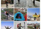 صعود موفقیت آمیز کوهنوردکوهبنانی به دومین قله مرتفع ایران