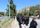 همایش پیاده روی بانوان شهرستان کوهبنان به مناسبت عیدسعید غدیر خم