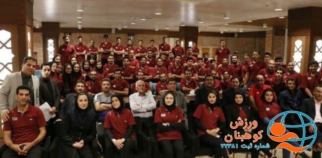 حضور ۲ داور شهرستان کوهبنان در کلاس پیش فصل داوران لیگ برتر استان