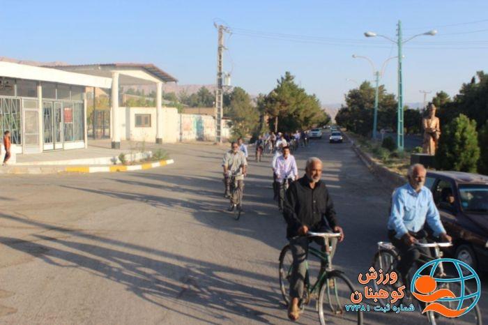 📌همایش دوچرخه سواری پدربزرگ های شهرستان کوهبنان به مناسبت هفته سالمندان وهفته دفاع مقدس برگزار شد.