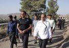 همایش پیاده روی کارکنان ادارات شهرستان کوهبنان به مناسبت هفته دفاع مقدس برگزار شد.