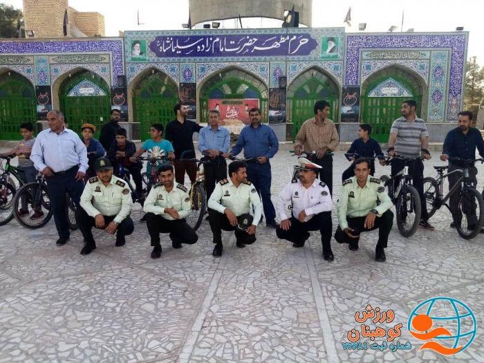 همایش دوچرخه سواری به مناسبت هفته نیروی انتظامی برگزارشد.